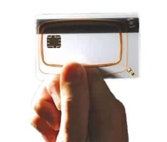 Mini Air Core Transformer in NFC Cards